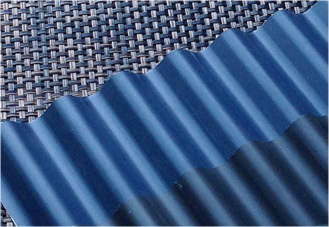 耐震力軽減に有利なガルバリューム鋼板